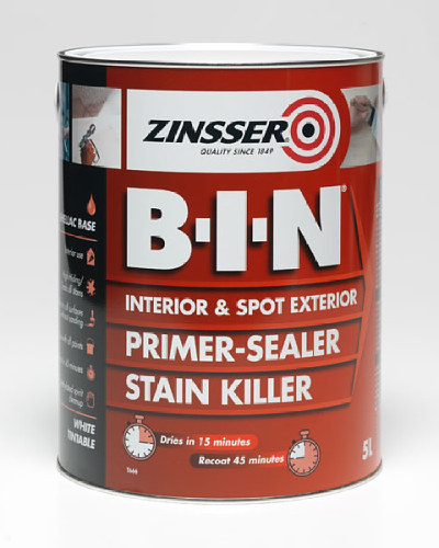 BIN Primer Sealer & Stain Killer - 500ml