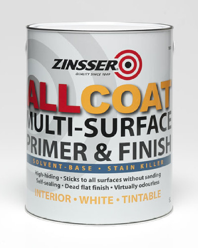 AllCoat Solvent Base Stain Killer White - 5 Litre