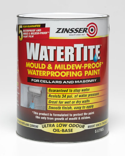 Water Tite Waterproofing Paint - 5 Litre