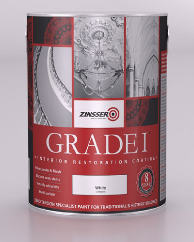 Grade 1 Interior Restoration Coating White - 2.5 Litre