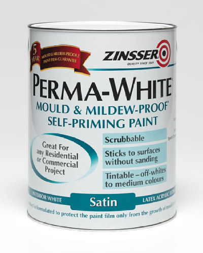 Perma White Interior Satin - 5 Litre